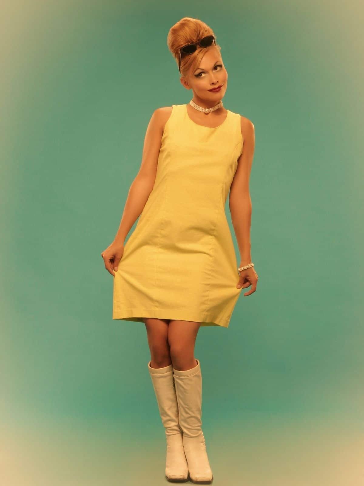 60s party themes retro girl