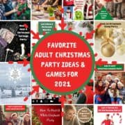 Favorite Adult Christmas Party Ideas & Games with pictures of party ideas