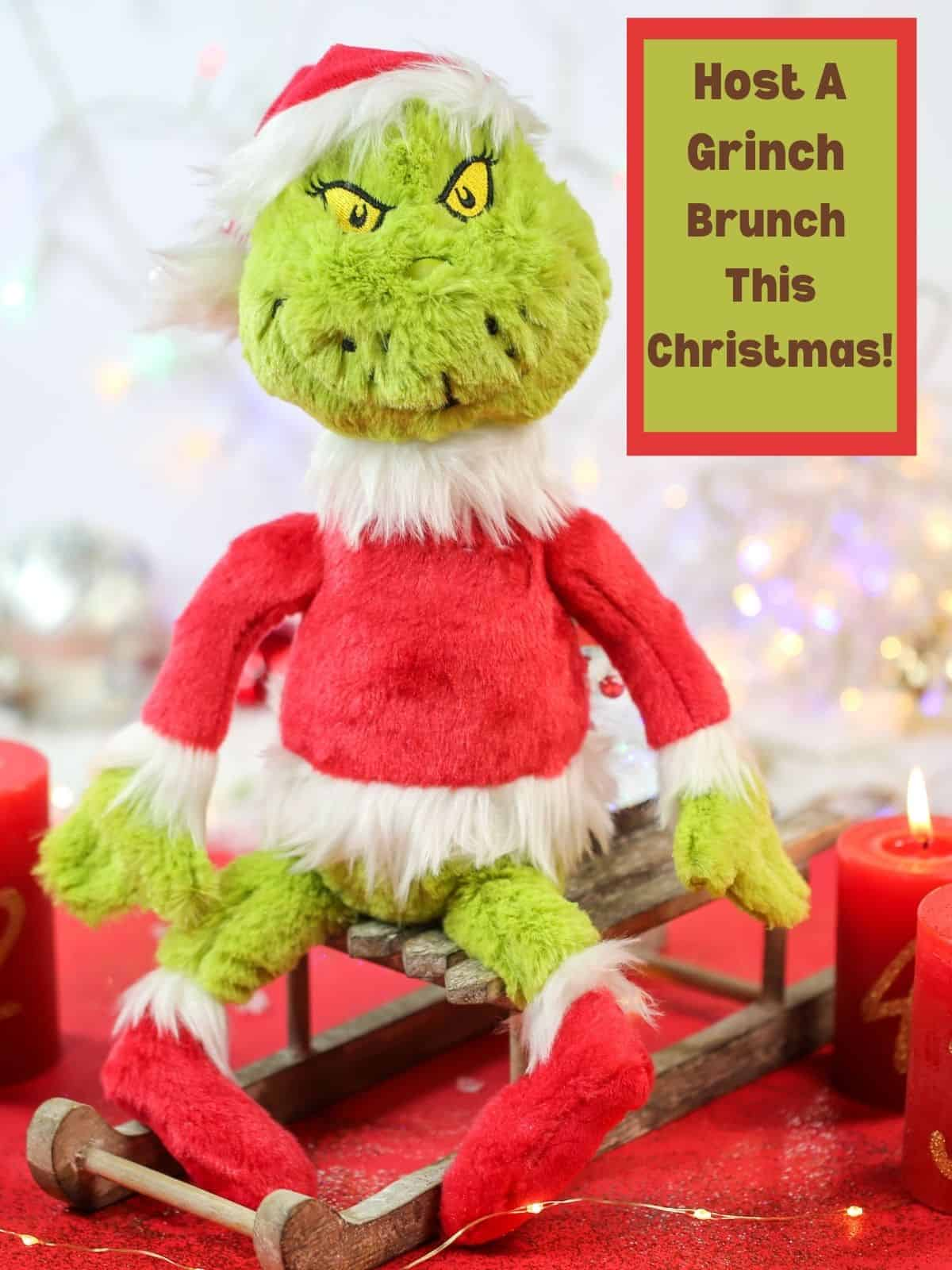 Host A Grinch Brunch This Christmas with a green grinch picture