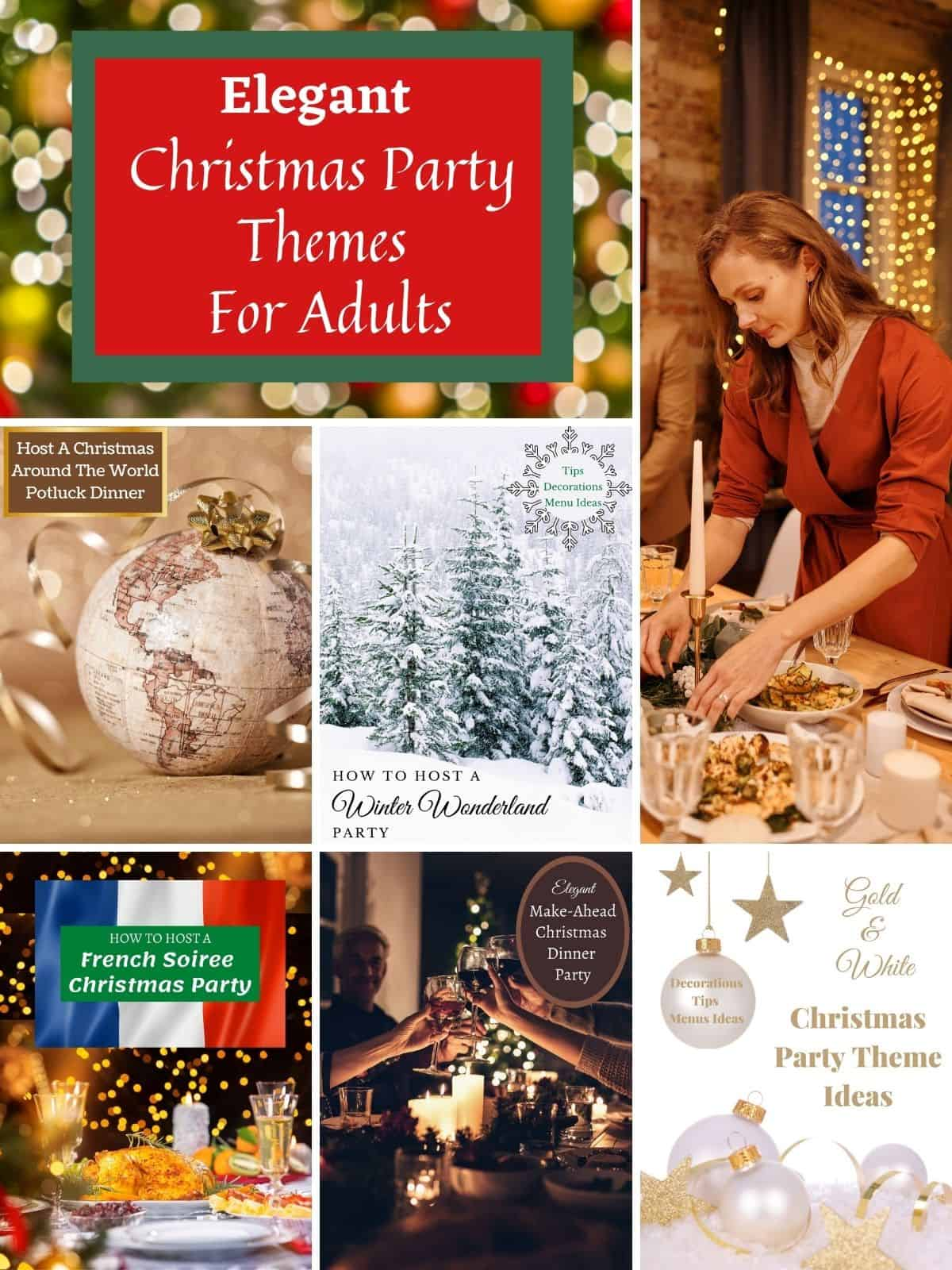 party idea pictures of elegant christmas parties