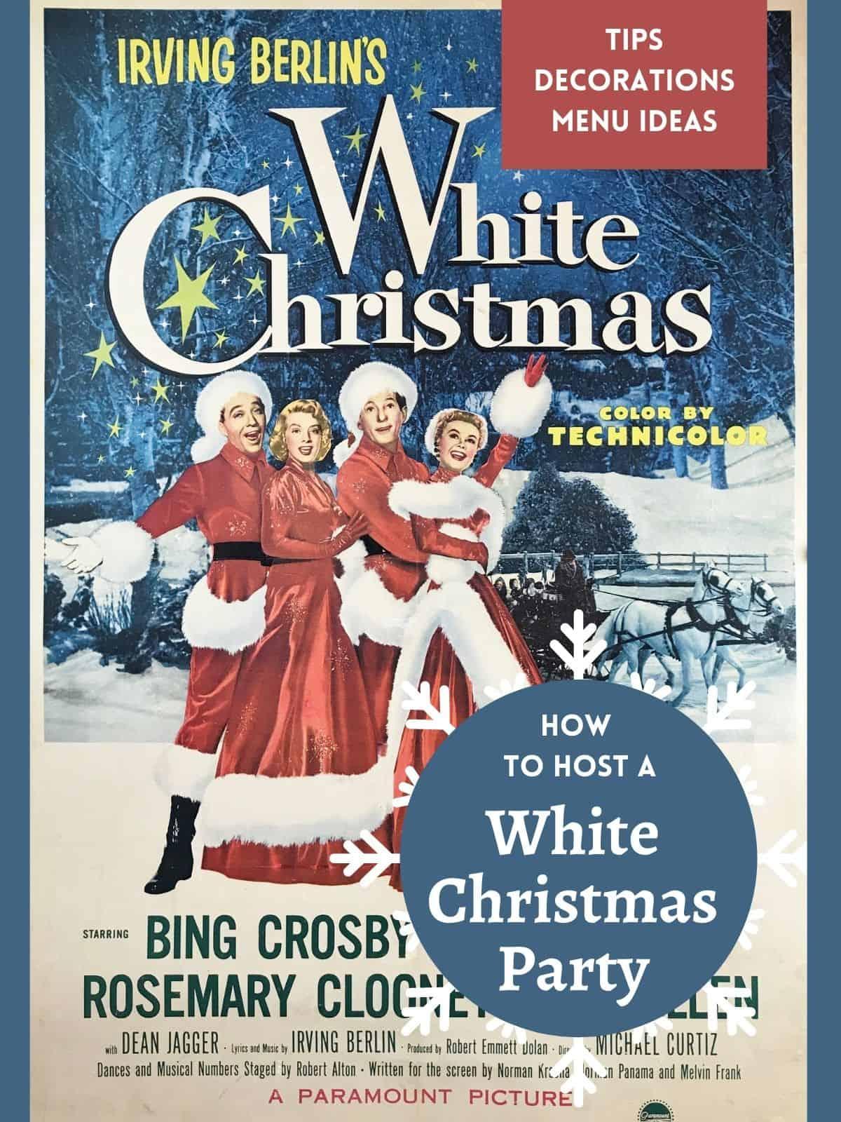 cover of white christmas movie box