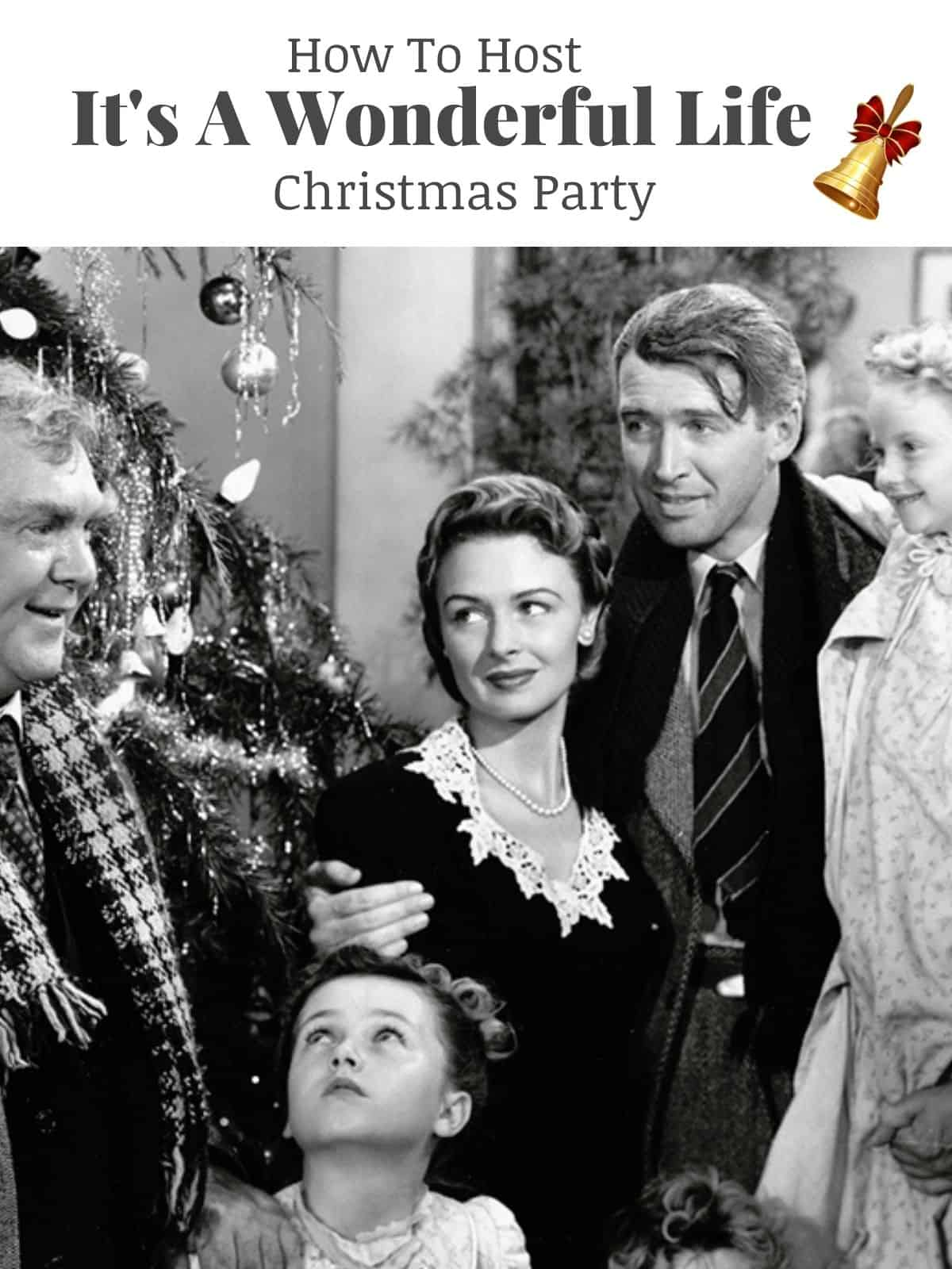 its a wonderful life movie clip with main characters
