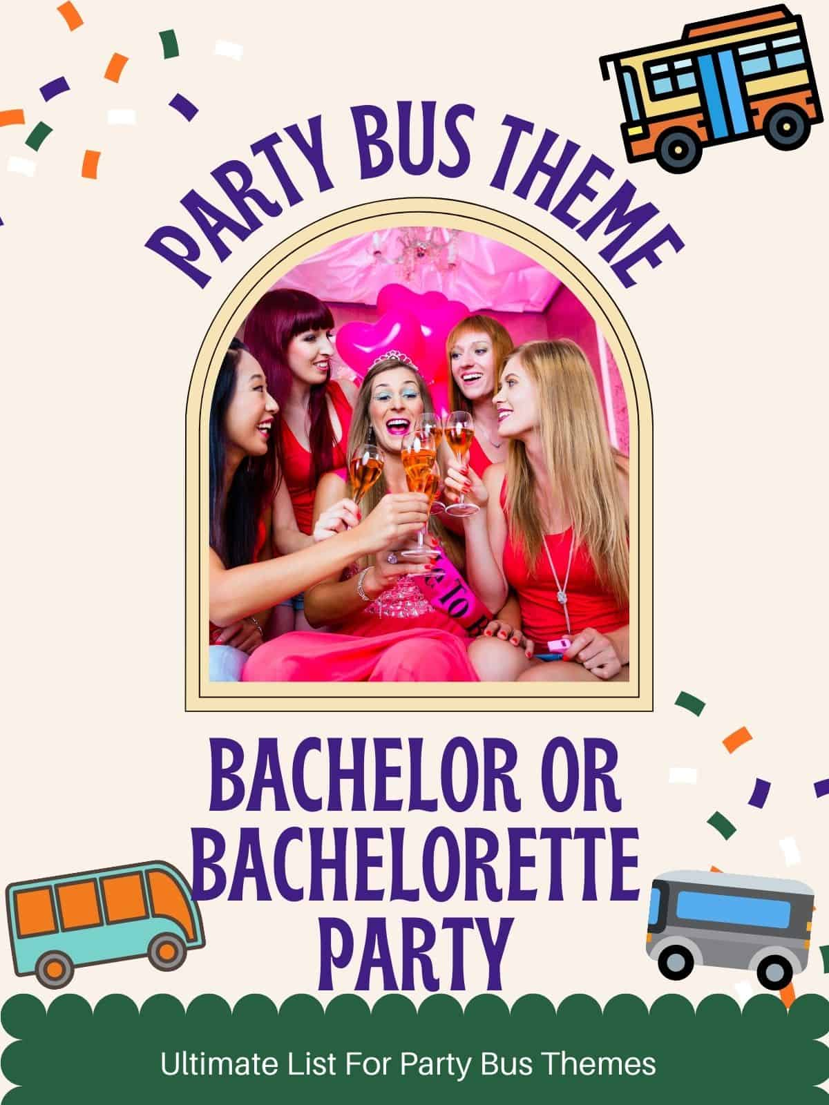 bachelorette party girls toasting